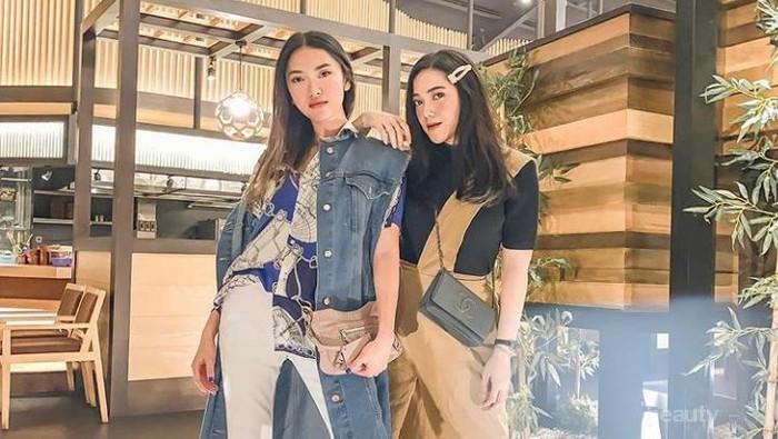 Kakak-Adik, Dua Influencer Indonesia Ini Adu Gaya Cantik