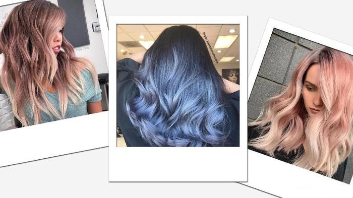 [FORUM] Ada yang pernah coba warnain rambut dengan warna ektrim??? Share dong!