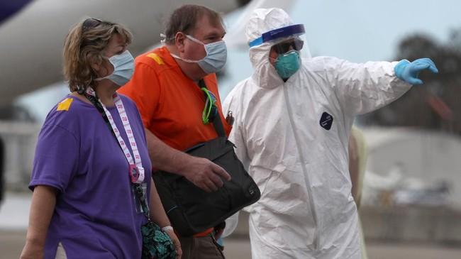 Beberapa penumpang kapal pesiar Grand Princess yang merapat di Pelabuhan Oakland pada Senin (9/3) dinyatakan positif terinfeksi virus corona.