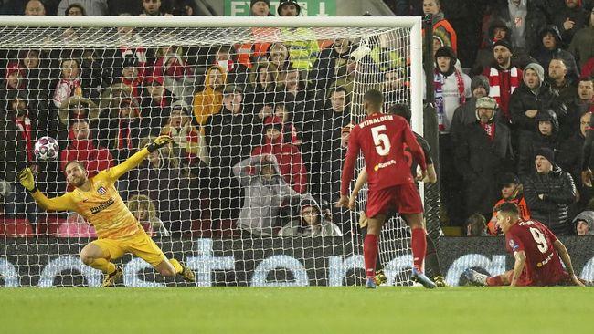 Pelatih Atletico Madrid Diego Simeone menyamakan Jan Oblak dengan Lionel Messi usai mengalahkan Liverpool di Liga Champions.