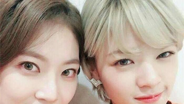 Inspirasi Fashion Kompak Kakak-Adik ala Jungyeon 'TWICE' dan Gong Seung Yeon