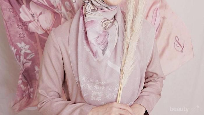 Simpel dan Rapi! 4 Tutorial Hijab Terbaru Laudya Cynthia Bella