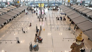 3 WN Nigeria 2 Bulan Terjebak Lockdown di Bandara Thailand