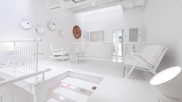 Interior Serba Putih, Intip Rumah Minimalis