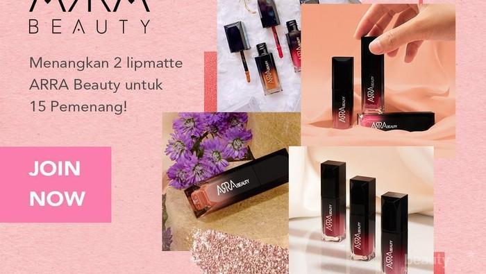 [GIFT-AWAY ALERT] Beautynesia Bagi-Bagi Anti-Aging Lipmatte dari ARRA Beauty Untuk 15 Orang Pemenang! Intip Disini Yuk, Ladies!