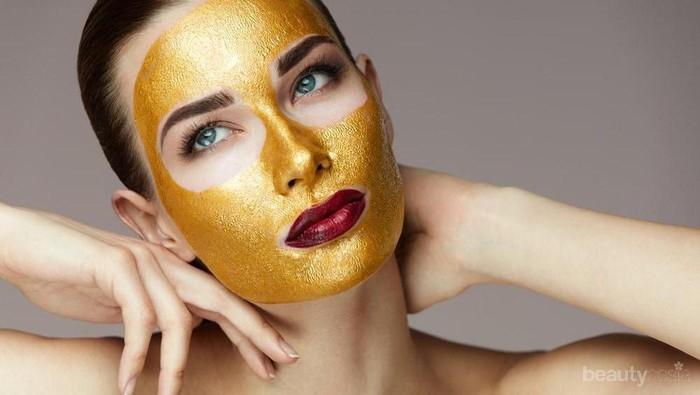 Selain Bikin Glowing, Fungsi Emas dalam Skincare Bikin Wajah Kamu Awet Muda!