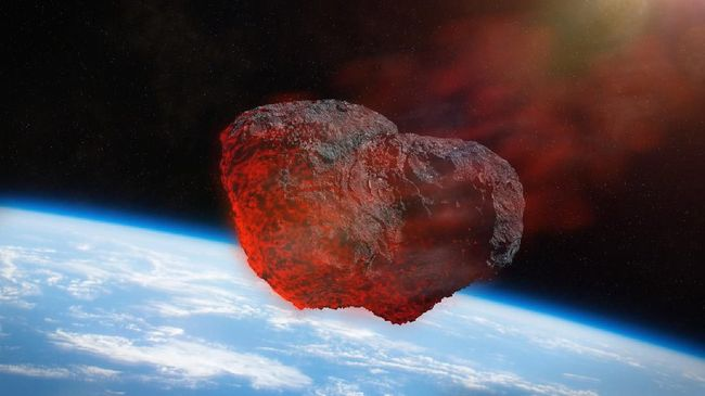 Asteroid seukuran Piramida Giza yang terbesar di Mesir, masuki orbit dan berada pada jarak terdekat dengan Bumi hari ini.