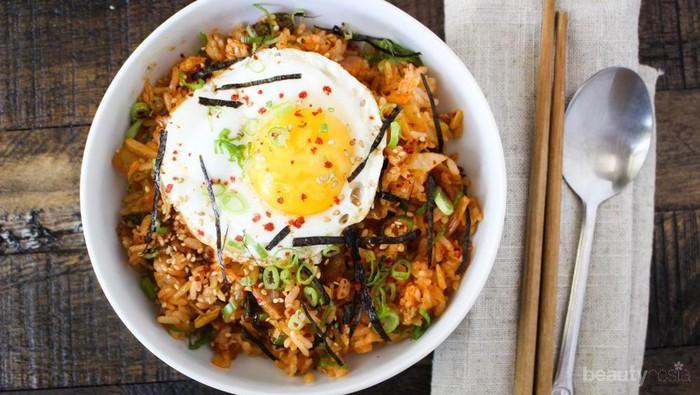 Resep Kimchi Bokkeumbap, Nasi Goreng Kimchi Ala Korea