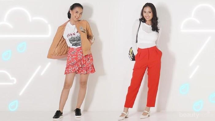 Inspirasi Outfit Warna Terang ala Artis Indonesia