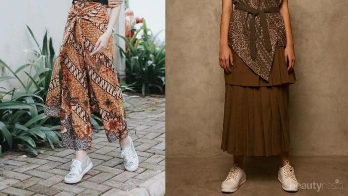 Mix and Match Batik dengan Sneaker, Yakin Enggak Mau Coba?