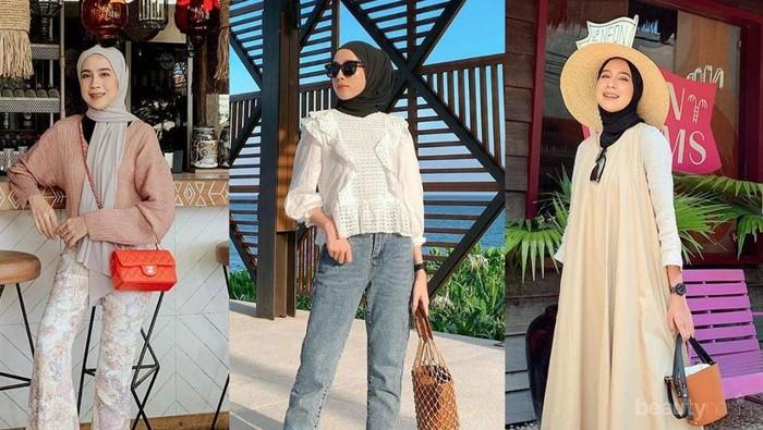 8 Inspirasi Fashion Liburan yang Manis dan Kekinian ala Selebgram Amelia Elle