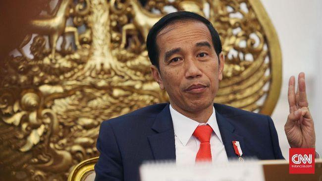 Presiden Joko Widodo (Jokowi) mengaku minum jahe merah tiga kali dalam satu hari sejak wabah virus corona menyebar di Indonesia.