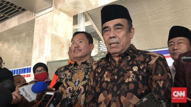 Menag Fachrul Razi menyatakan akan memberi berbagai bantuan bagi pondok pesantren yang melapor bahwa institusinya menjadi klaster Covid-19.