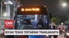 VIDEO: Bocah Tewas Tertabrak Transjakarta