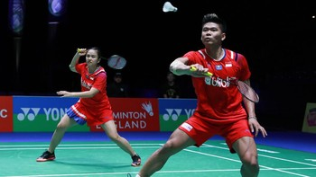 Hasil Yonex Thailand Open 2021: Praveen/Melati ke Final