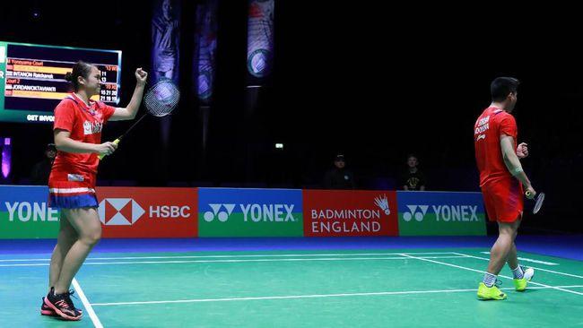 Berikut fakta unik Praveen Jordan/Melati Daeva Oktavianti usai melangkah ke final ganda campuran Yonex Thailand Open 2021.