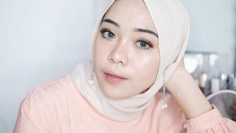 Tutorial Makeup Tampil Cantik Natural Dengan Makeup Wardah Saat Iftar Ala Putri Melati