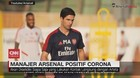 VIDEO: Manajer Arsenal, Mikel Arteta Positif Corona
