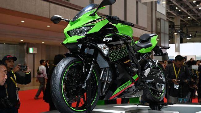 Kawasaki Ninja ZX-25R di Tokyo Motor Show 2019.