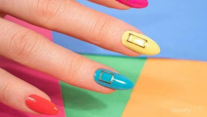 Coba Sekarang, Gaya Nail Art Pelangi yang Sedang Trend