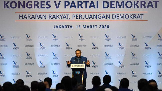 Gejolak internal Demokrat bermula ketika AHY mengungkap ada pihak lingkaran dekat Presiden Joko Widodo yakni Moeldoko ingin mengambil alih partai.