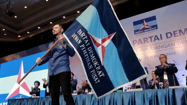 Fraksi Partai Demokrat menarik diri dan tidak ikut dalam rapat pengambilan keputusan pembahasan RUU Omnibus Law Cipta Kerja di DPR.