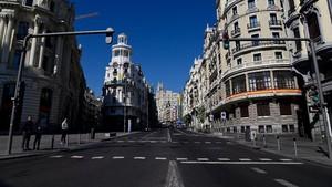 Kota Madrid kembali Lockdown Tekan Lonjakan Kasus Covid-19