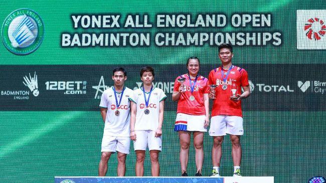 Berikut rapor tujuh wakil Indonesia di All England termasuk Anthony Ginting, Jonatan Christie, hingga ganda putra Kevin/Marcus.