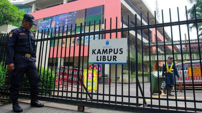 Universitas Islam Negeri Sumatera Utara (UINSU) di Medan ditutup mulai 21 April.