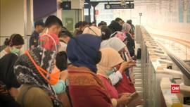 VIDEO: Penumpukan penumpang dan Dilema Social Distance