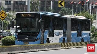 TransJakarta dan LRT Beroperasi Sampai 18.00 WIB Selama PSBB