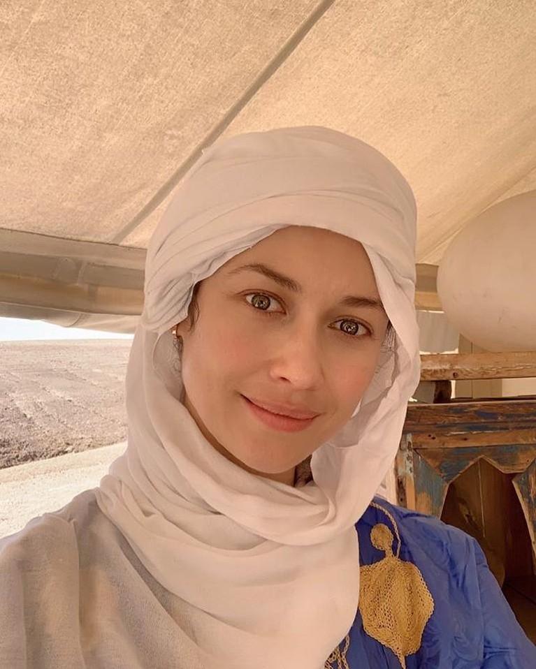 Olga menjadi aktris kedua yang positif virus corona setelah Tom Hanks dan Rita Wilson.