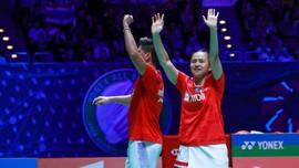 Hasil Thailand Open: Praveen/Melati Hajar Wakil Tuan Rumah