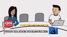VIDEO: Pentingnya 'Social Distancing' Melawan Virus Corona