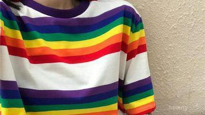 [FORUM] Baju garis horizontal bikin tubuh terlihat lebih berisi?