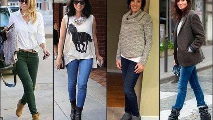 Dear Ladies, Biar Padupadan Ankle Boots Makin Kece dengan Skinny Jeans Ini Tipsnya!