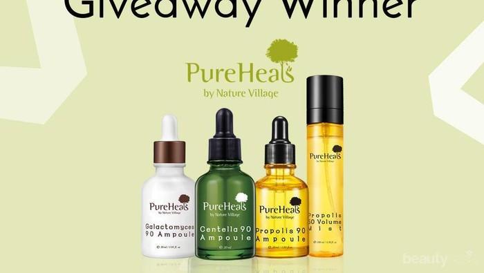 [GIVEAWAY ALERT] 3 Pemenang Paket Hadiah PureHeal's! Intip Disini Ya Ladies!