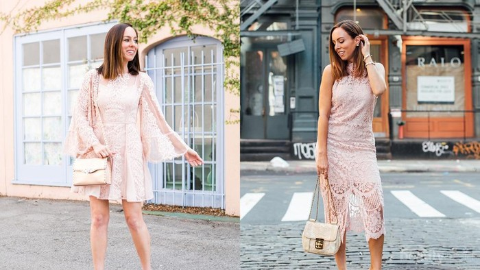 5 Inspirasi Dress Warna Dusty Pink Cantik untuk Pesta