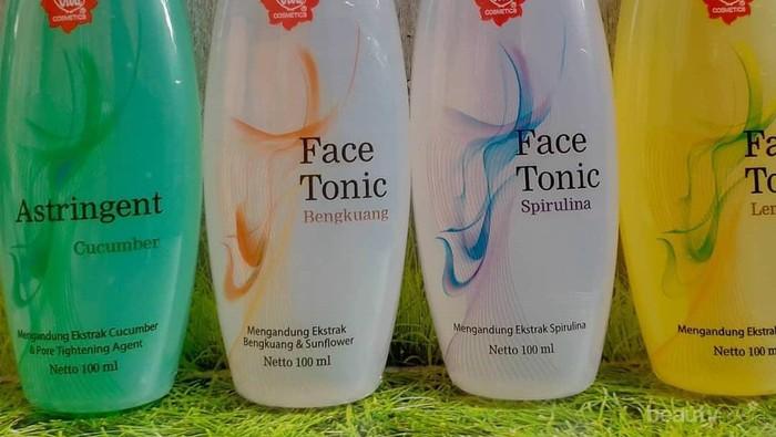 4 Varian Face Tonik Viva Cosmetics dan Manfaatnya untuk Setiap Jenis Kulit