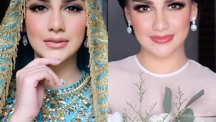 Inspirasi Makeup Cantik Paripurna Irish Bella di Hari Pernikahan ala MUA Bennu Sorumba