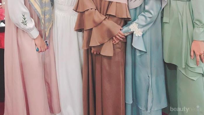 Tampil Stylish Saat Lebaran dengan Pilihan Model Gamis Cantik 2019
