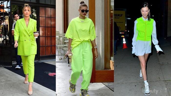 Warna Hijau Neon Sedang Trend, Ini Tips Styling Perpaduan Warna yang Chic