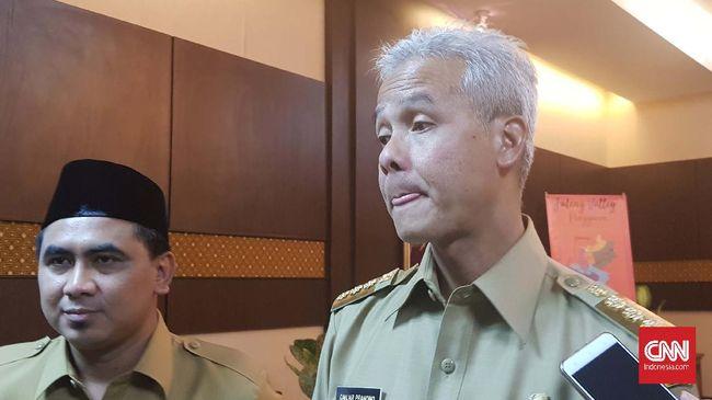 Gubernur Jawa Tengah Ganjar Pranowo menyebut lockdown di Kota Tegal terkait pencegahan virus corona hanya di bagian alun-alun, bukan keseluruhan wilayah.