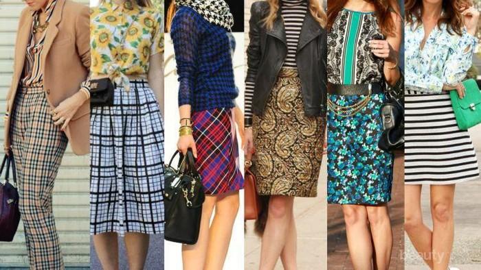 [FORUM] Lebih suka baju bermotif atau baju polos ladies?