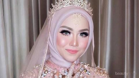 Mau Menghemat Budget Saat Pernikahan Ini Tutorial Hijab Pengantin Yang Bisa Dilakukan Sendiri