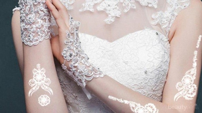 Tahap Membuat Henna Putih untuk Pengantin Wanita agar Makin Memesona