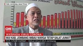 VIDEO: MUI Kab. Jombang Imbau Warga Tetap Salat Jumat