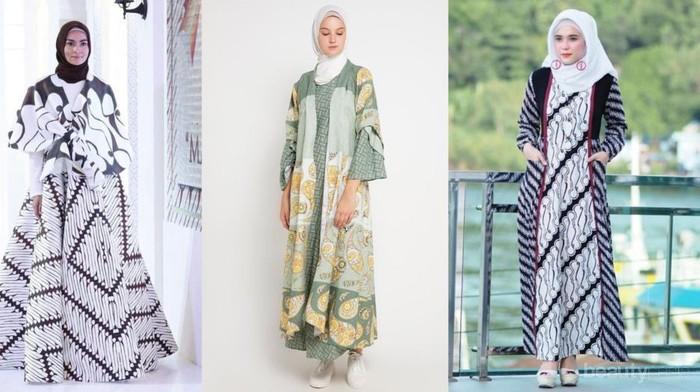 Biar Tampilan Kamu Makin Kece, Pakai Gamis Batik Cantik Ini Saat ke Pesta!