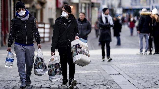 Pemerintah Belgia akan menutup seluruh kafe dan restoran mulai Senin (19/10) selama empat pekan.