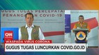 VIDEO: Gugus Tugas Luncurkan 'covid.go.id'